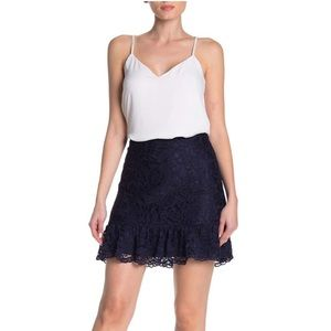 NWT Draper James Tulip Lace Skirt